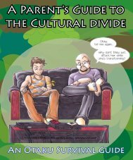 A Parent's Guide to the Cultural divide