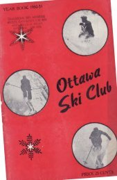 skiing - the Gatineau Valley Historical Society