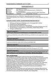 Protokoll Bau-, Planungs- und Umweltausschuss - Groß-Gerau