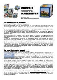 Beilage zur Gemeindezeitung vom 29. August 2009