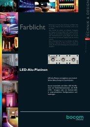 LED-Alu-Platinen - bocom Lichttechnik • Energiespar-Technologien ...