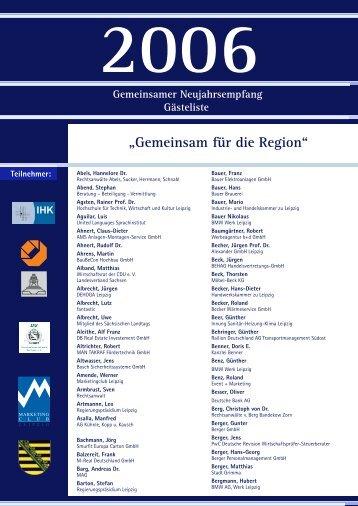 2006 - Handwerkskammer zu Leipzig