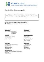 Persönlicher Behandlungsplan - Havelland Kliniken ...