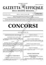 N. 3-Venerdì 27 marzo 2009- Serie Concorsi - Gazzetta Ufficiale ...
