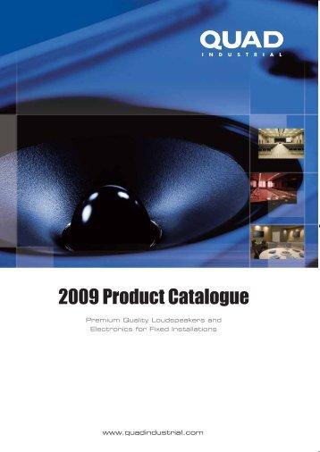 2009 Product Catalogue - audio concepts