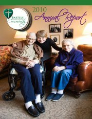 Annual Report - Bartels Retirement Community