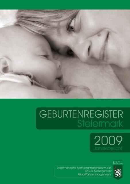 Geburtenregister KAGes Jahresbericht 2009 - Institut für klinische ...