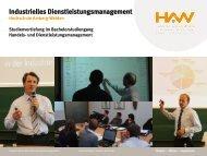 Industrielles Dienstleistungsmanagement - Hochschule Amberg ...