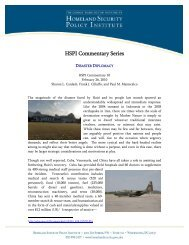 Disaster Diplomacy - George Washington University Medical Center