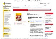 Symantec Norton Anti Virus 2006 NL - Grafi-Call