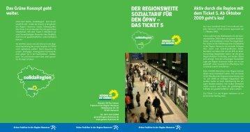 Faltblatt Sozialtarif Final.indd - Grüne in der Region Hannover