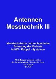 Antennen Messtechnik III - HAM-On-Air