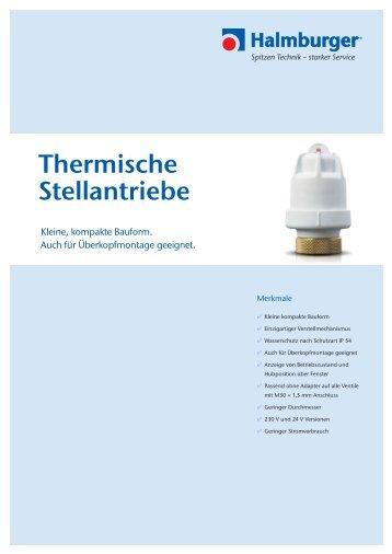 Thermische Stellantriebe - Halmburger GmbH