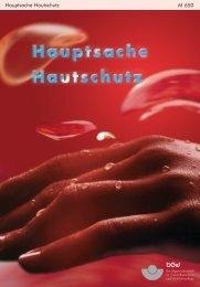 Hautschutz in der ambulanten Pflege (PDF 440 KB) - Guss