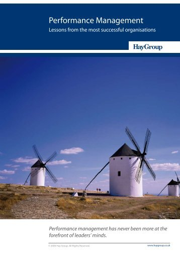 Performance Management - Hay Group