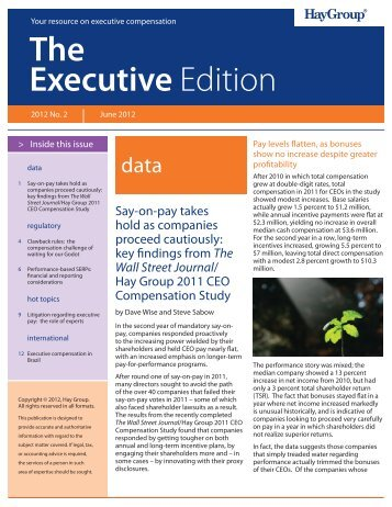 Executive Edition Q2 06-19-2012 v2.indd - Hay Group