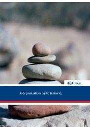 Job Evaluation basic training - Hay Group