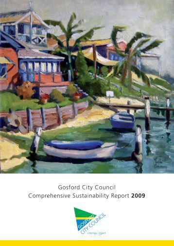 Sustainability Report 2009 - Gosford City Council - NSW Government