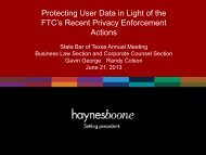 Protecting User Data in Light of the FTC's Recent Privacy ...