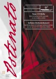 Neue Cd-Reihe Solisten-Orchesterkonzert