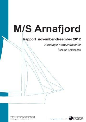 Arnafjord des.2012 - Hardanger og Voss Museum