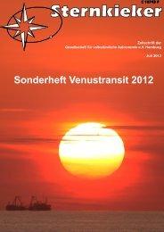 Sonderheft Venustransit 2012 - Gesellschaft für volkstümliche ...