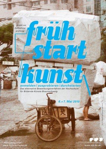 Flyer zum Fruehstart Kunst 2010 - Hochschule für Bildende Künste ...