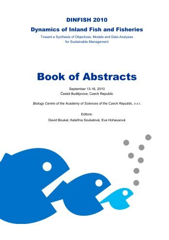 Book of Abstracts - Institute of Hydrobiology