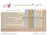 download this chart - Glacier Symphony & Chorale