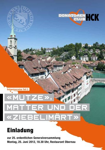 Einladung downloaden - HC Kriens-Luzern