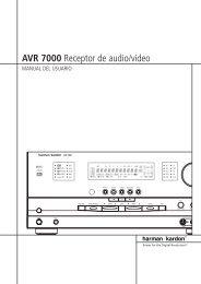 AVR 7000 Receptor de audio/vídeo - Hci-services.com