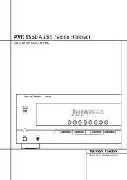 AVR 1550Audio-/Video-Receiver - Hci-services.com