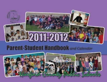 Parent Handbook - Harford County Public Schools
