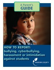 Parent's Guide - Harford County Public Schools