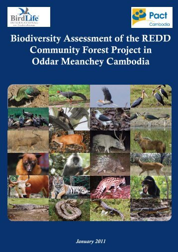 Biodiversity Assessment of the REDD Community Forest Project in ...