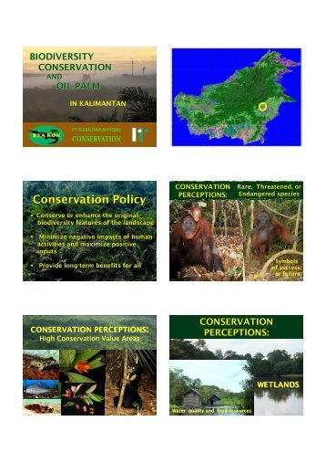 Conservation Policy - HCV Resource Network