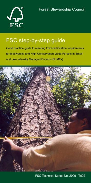FSC step-by-step guide - FSC - Forest Stewardship Council