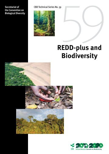 REDD-plus and Biodiversity - Convention on Biological Diversity
