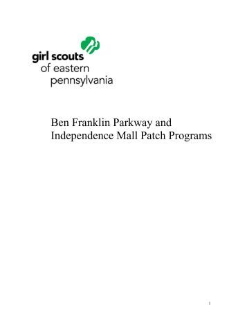 Ben Franklin Parkway and Independence Mall Patch Programs