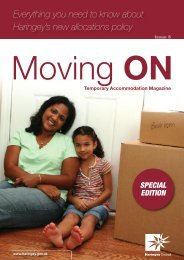 Moving On - July 2010 Special Edition - Haringey Council