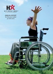 ANNUAL REPORT - Health and Disability Commissioner