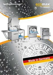Spülmaschinenserie - Grimm-Gastrobedarf
