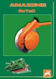 Amazone Rotec vetőgép rendszer - Hanki-Ker Kft.