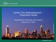 Ron Kimble Presentation - City of Greenville
