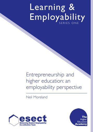 entrepreneurship higher education and canteen Higher education and offers broad recommendations about the potential of entrepreneurship as a key element in undergraduate education, the major, graduate study, the evaluation of faculty, topics referred to as the.