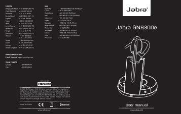 Jabra GN9300e - Suprag AG