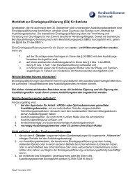 Merkblatt zur Einstiegsqualifizierung (EQ) - Handwerkskammer ...