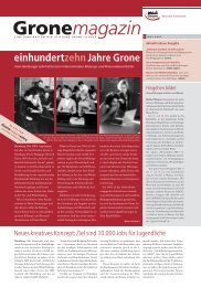 GroneMag_0105.qxd (Page 1) - Stiftung Grone-Schule