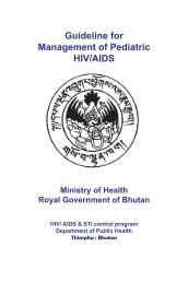 Guideline for Management of Pediatric HIV/AIDS (PDF - AIDSTAR-One