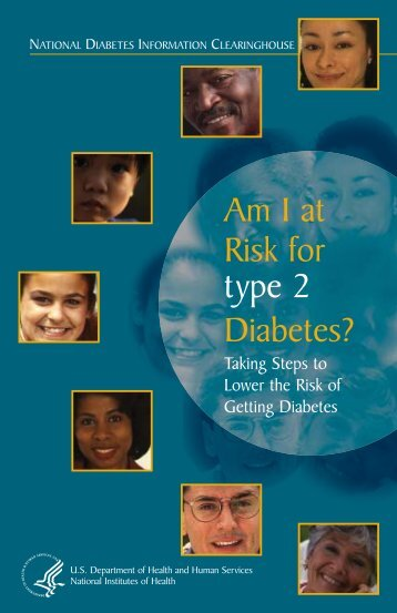 Am I at Risk for Type 2 Diabetes? - New York State Department of ...